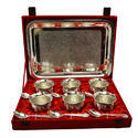 Traditional Silver Plated Handi Set