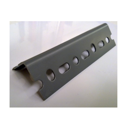 Black Mild steel Slotted Angle Shelving, For Warehouse