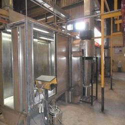 Three Phase Stainless Steel Powder Coating Booth