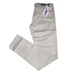 Mens Check Formal Pants