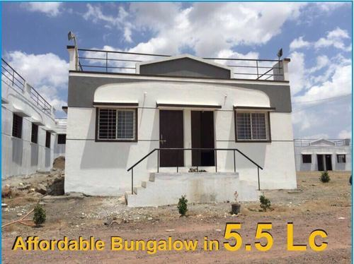Rera Sanctioned 1rk Bungalow At Phaltan Size Area 530