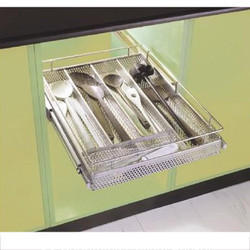 SS Perforated Cutlery Basket