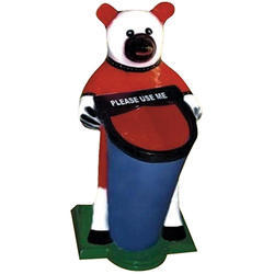Bear Fiber Medium Dustbin