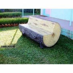 FRP Round Wooden Bench