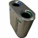 Small Standing Steel Dustbin