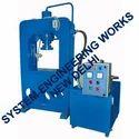 Hydraulic Press Semi Automatic Machine
