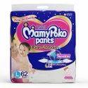 Cotton Pant Diapers L62 Mamy Poko Pants Diaper, Size: Large