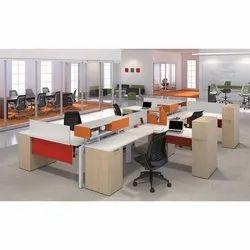 Krystal Modular Wooden Office Furniture