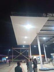 Petrol Pump Canopy Ceiling Works