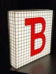 Acrylic Box Signage