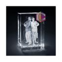Crystallyze 3d Photo Crystal Gift, Size: 60x60x100mm