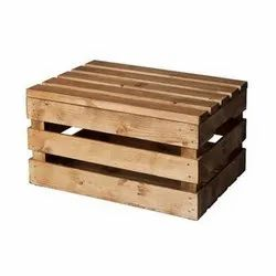 Wood Rectangular Wooden Crates for Packaging, Weight: 3-5 Kg
