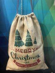 Nature Care Christmas Jute Sac