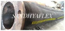 200nbx6Mtr Cement Feeding Rubber Hose With Both End MS Flange