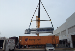 Loading & Unloading of Heavy Equipment