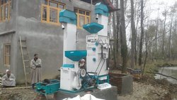 Double Rubber Roll Automatic Mini Rice Mill Machine