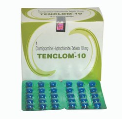 Allopathic Clomipramine Hydrochloride Tablet 10mg,  Packaging Type: Strips