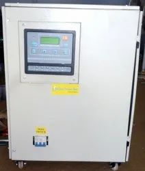 98 % Mild Steel Three Phase Air Cooled Voltage Control Stabilizer, Capacity: 20-30 Kva, 415 V