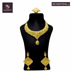 Fashion  Traditional Indian Jewelry  Necklace with Earrings Set for Women
