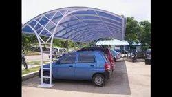 Polycarbonate Car Parking Sheds