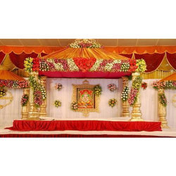 Wedding Stage Flowers Decoration Service