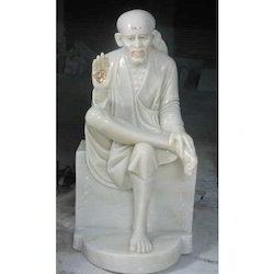 Marble Sitting Sai Baba
