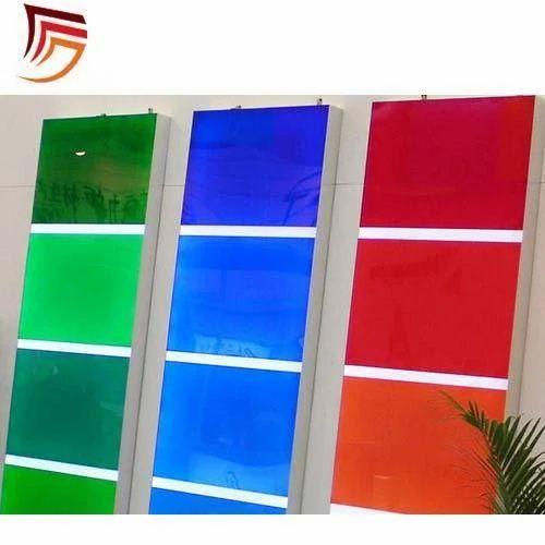 Acrylic Transparent Color Sheets at Rs 1600 /sheet   Transparent ...