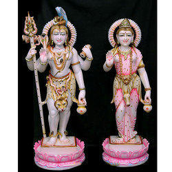 Lord Shiv Parvati Statue