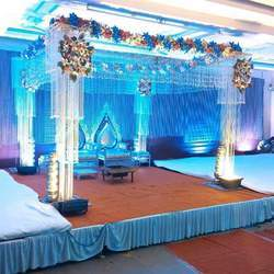 Crystal Wedding Chori Mandap