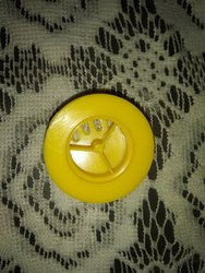 Yellow Mask plastic Cap