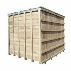 Rectangle Polished Seaworthy Wooden Box, For Packaging, Size: 900 X 800 X 800 Mm