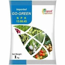 Beyond Agrichem Go Green (NPK 13:00:45), Packaging Type: Plastic Packet, Packaging Size: 1 Kg And 25 Kg