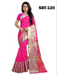 Mango Design Cotton Silk Saree