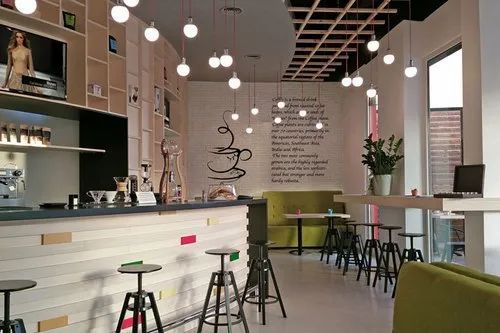 Cafe Interior Design, 3d Interior Design Available: Yes