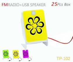TP TROOPS 102 FM USB SPEAKER, Model No.: TP- 3010, Model Number: TP- 3010