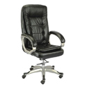 Fixed Arms Office Black Chair