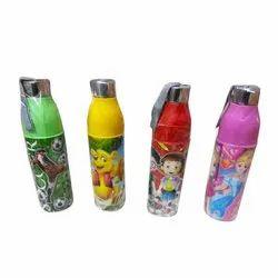 Screw Cap School Water Bottle, Capacity: 500 Ml- 1 Liter