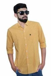 Cotton Full Sleeves Solid Casual Shirts