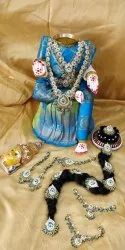 Varalakshmi Golu Doll With Jewel Set