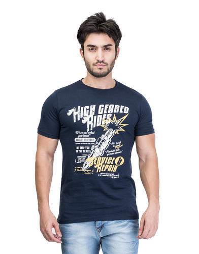 Fashionable Men Printed T-Shirt