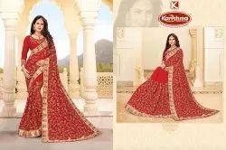 Bridal Wear Georgette Saree - Shahi Joda-02