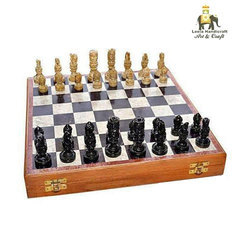 Stone Chess Board Set