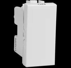 White Havells 16 AX 1way Switch, 240 V