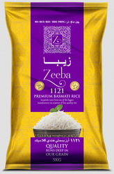 Zeeba 1121 Premium Basmati Rice - Supple Tek Industries Pvt Ltd
