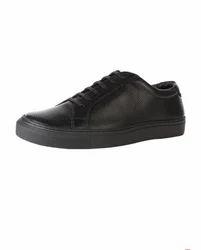 Van Heusen Black Lace Up Shoes VDMMS00659