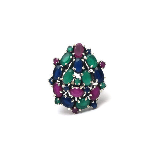emerald band ring eternity arazi cut sapphire product