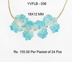 Lampwork Fancy Glass Beads - YVFLB-036