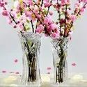 Wedding Crystal Art Glass Flower Vase Home Decoration