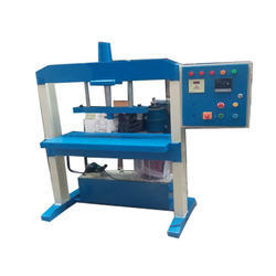 Three Die Semi Automatic Hydraulic Plate Machine