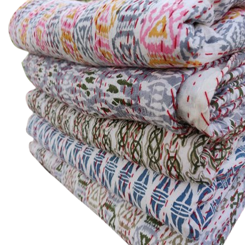 Block Print Cotton Quilts
